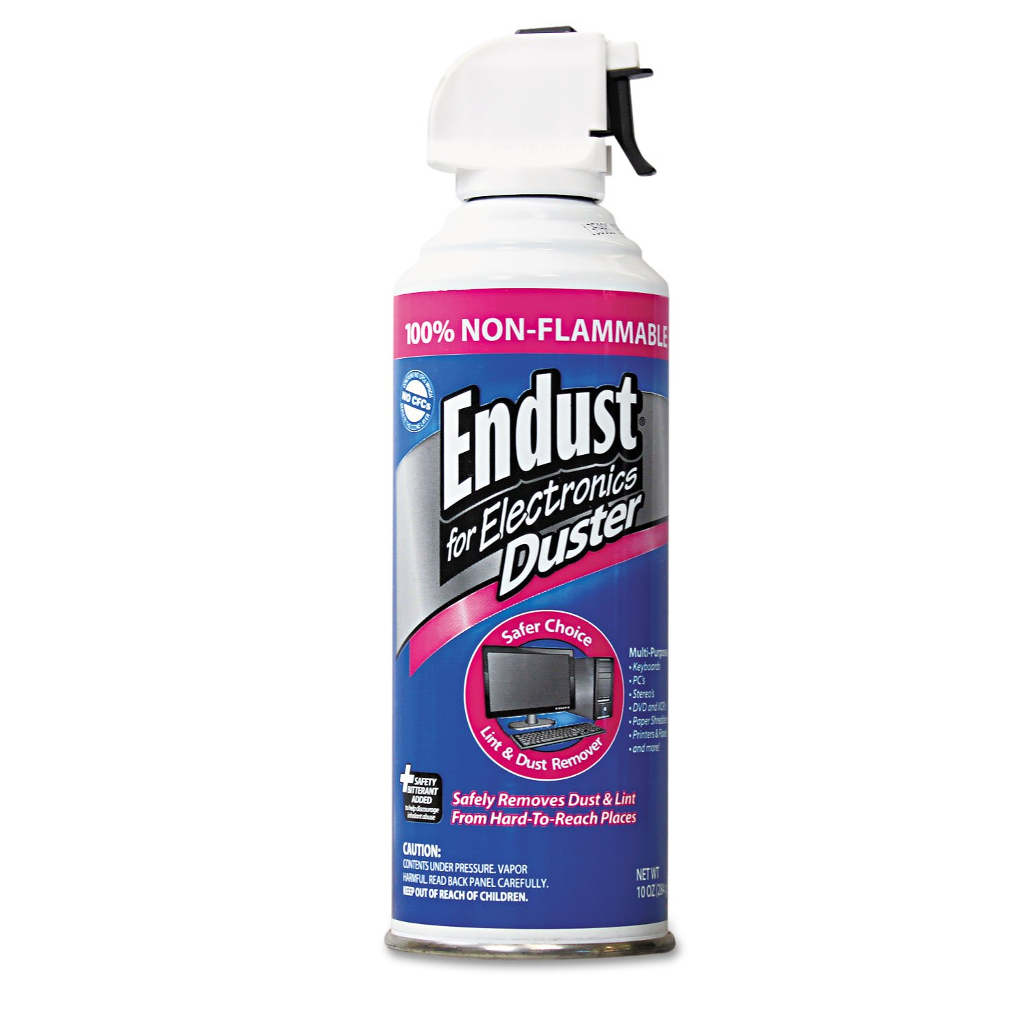 Endust 255050 10oz. Duster Non-Flammable with Bitterant by Endust for Electronics