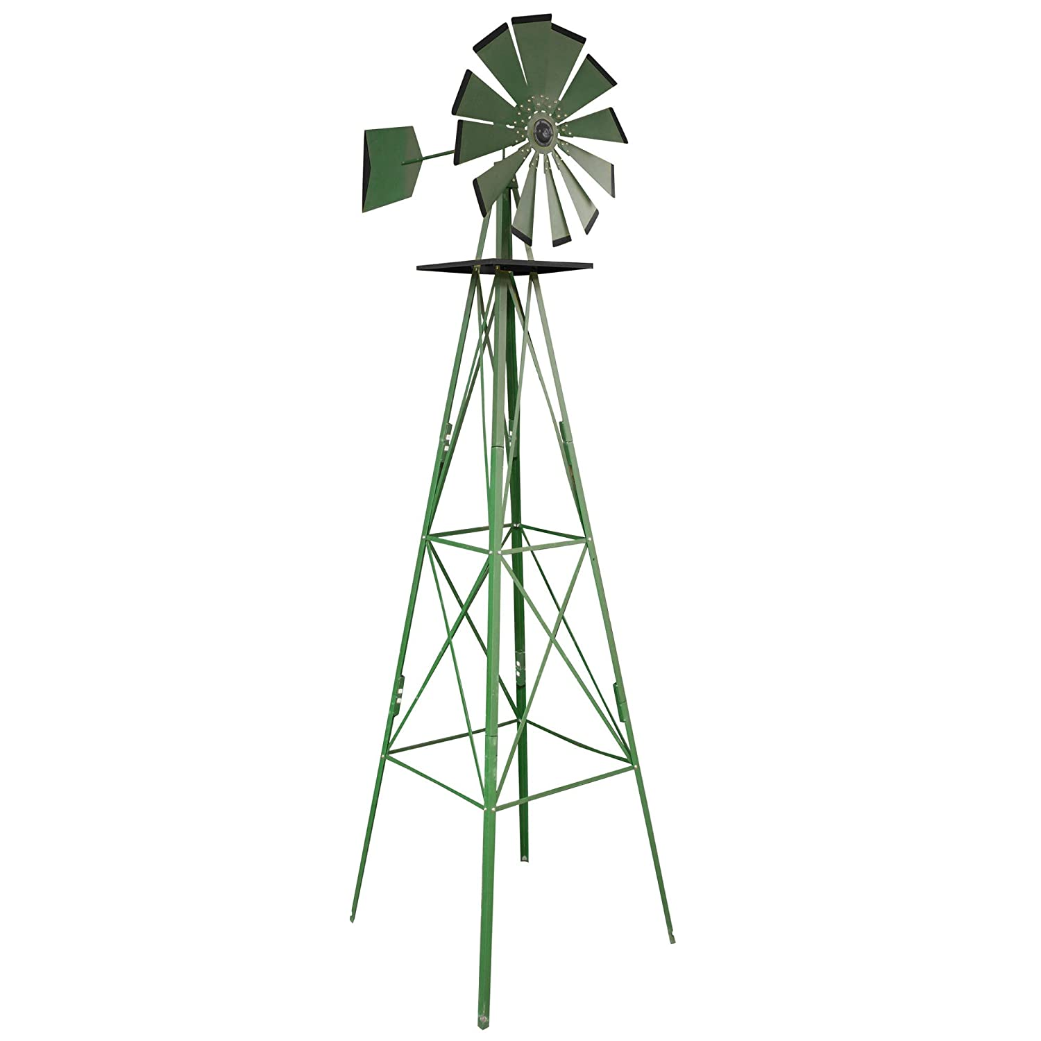 Amazon Sportsman SM07251 8Feet Windmill Wind Sculptures – Garden Windmill Plans Pdf