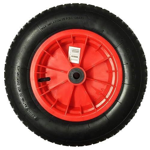 """10/"""" Solid Rubber Tyre Wheel Foam Filled Sack Truck Trolley Cart AN002"""