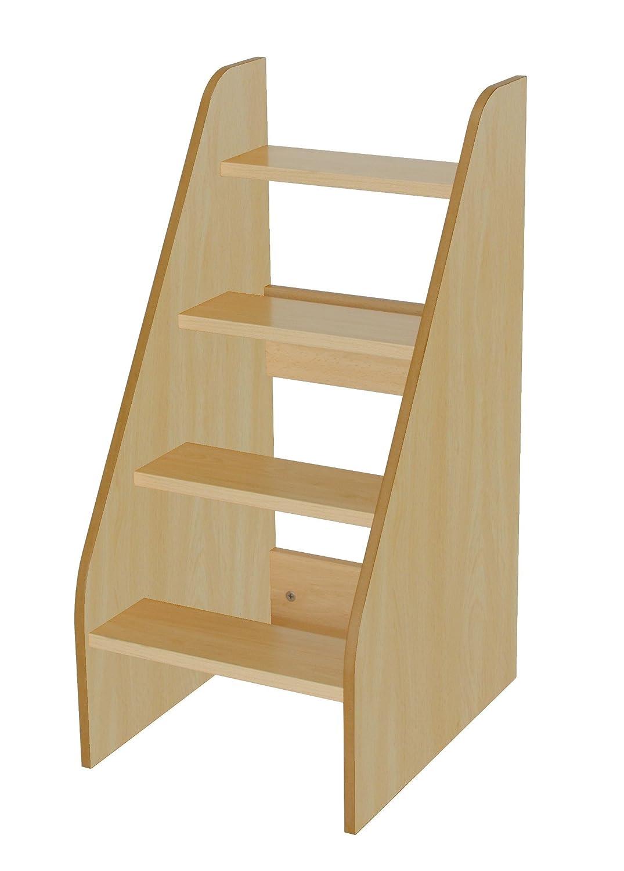 Mobeduc 600710HP18-Scala per fasciatoio, in legno, colore: faggio, 40 x 50 x 86 cm Mobeduc_600710HP18
