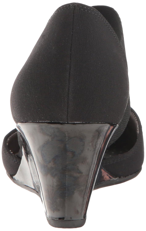 LifeStride Women's Darcy Wedge Pump B01LGPSCP2 7.5 W US|Black