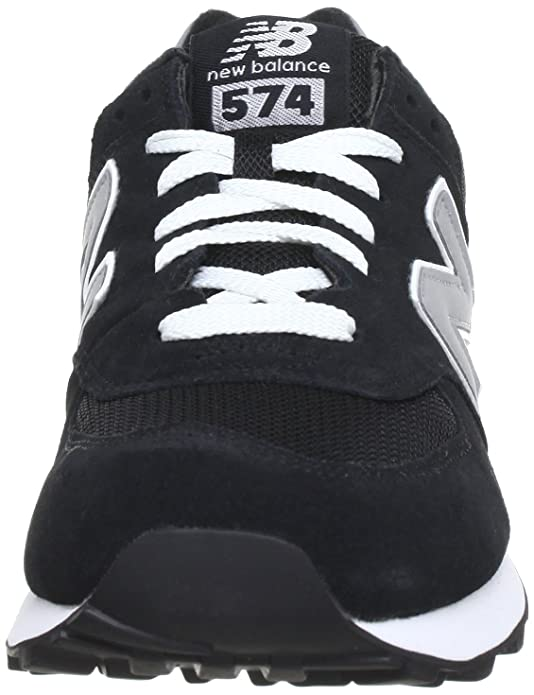 M574 D 13H, Baskets mode homme - Noir (Black/001), 40 EU (7 US)New Balance
