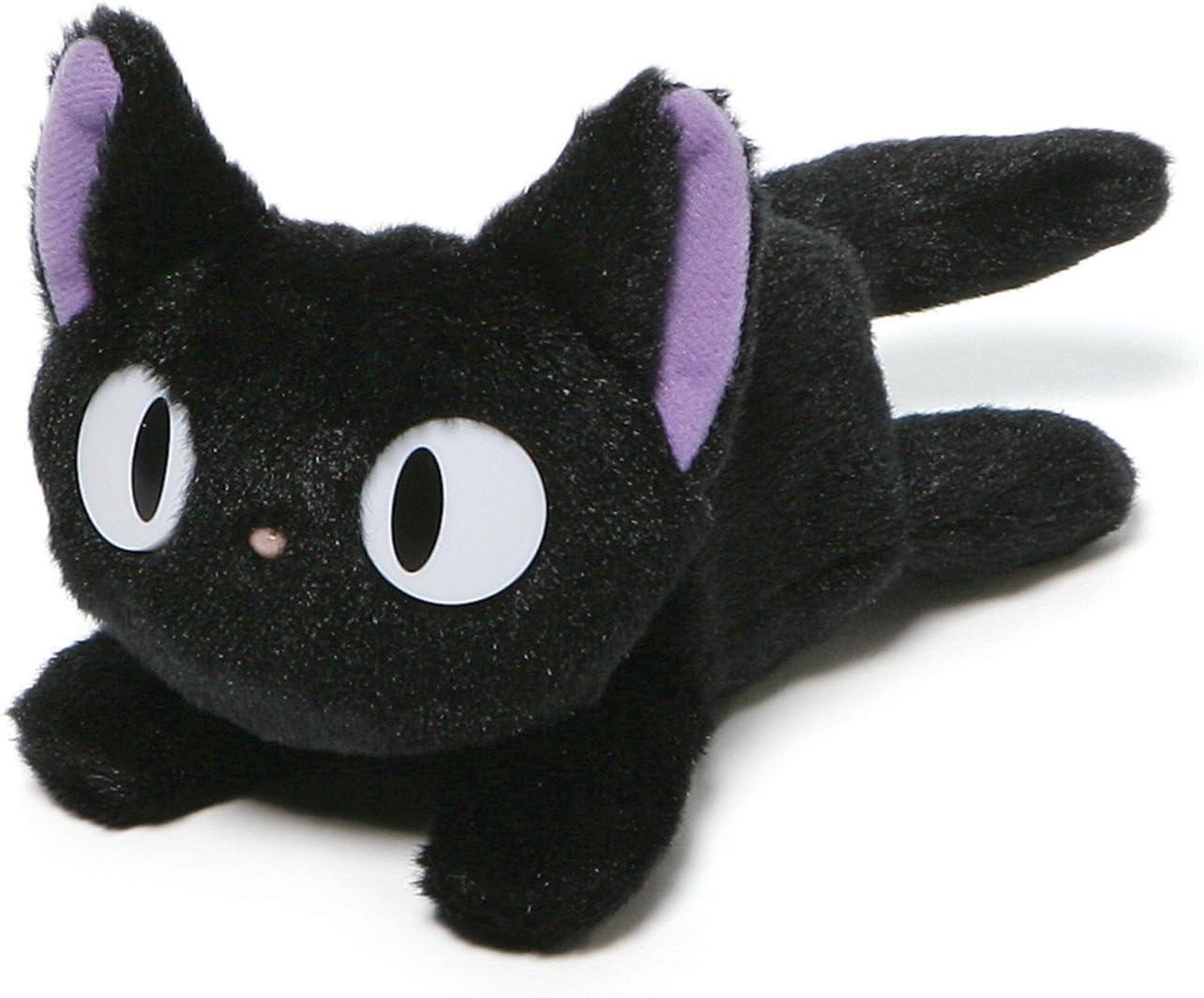 Amazon Com Gund Kikis Delivery Service Jiji Beanbag Cat Stuffed Animal Plush 6 5 Toys Games