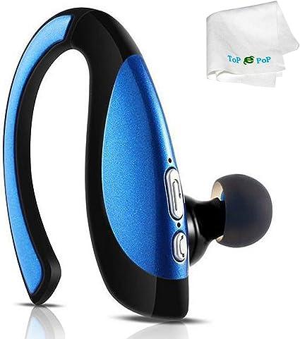 Bluetooth Kopfh/örer,In-Ear Kabellose Kopfh/örer,Bluetooth Headset,Sport-3D-Stereo-Kopfh/örer,mit 35H Ladek/ästchen und Integriertem Mikrofon Auto-Pairing f/ür Android//Samsung//Huawei
