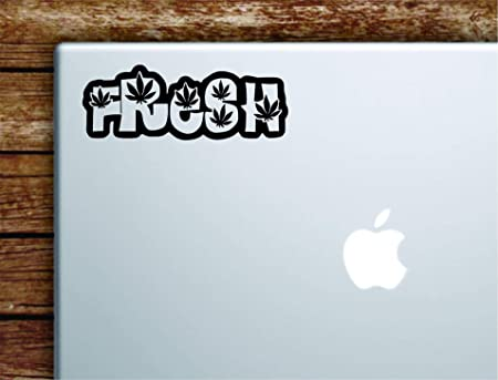 Amazon.com: Boop Decals Fresh Weed Leafs Laptop Apple ...