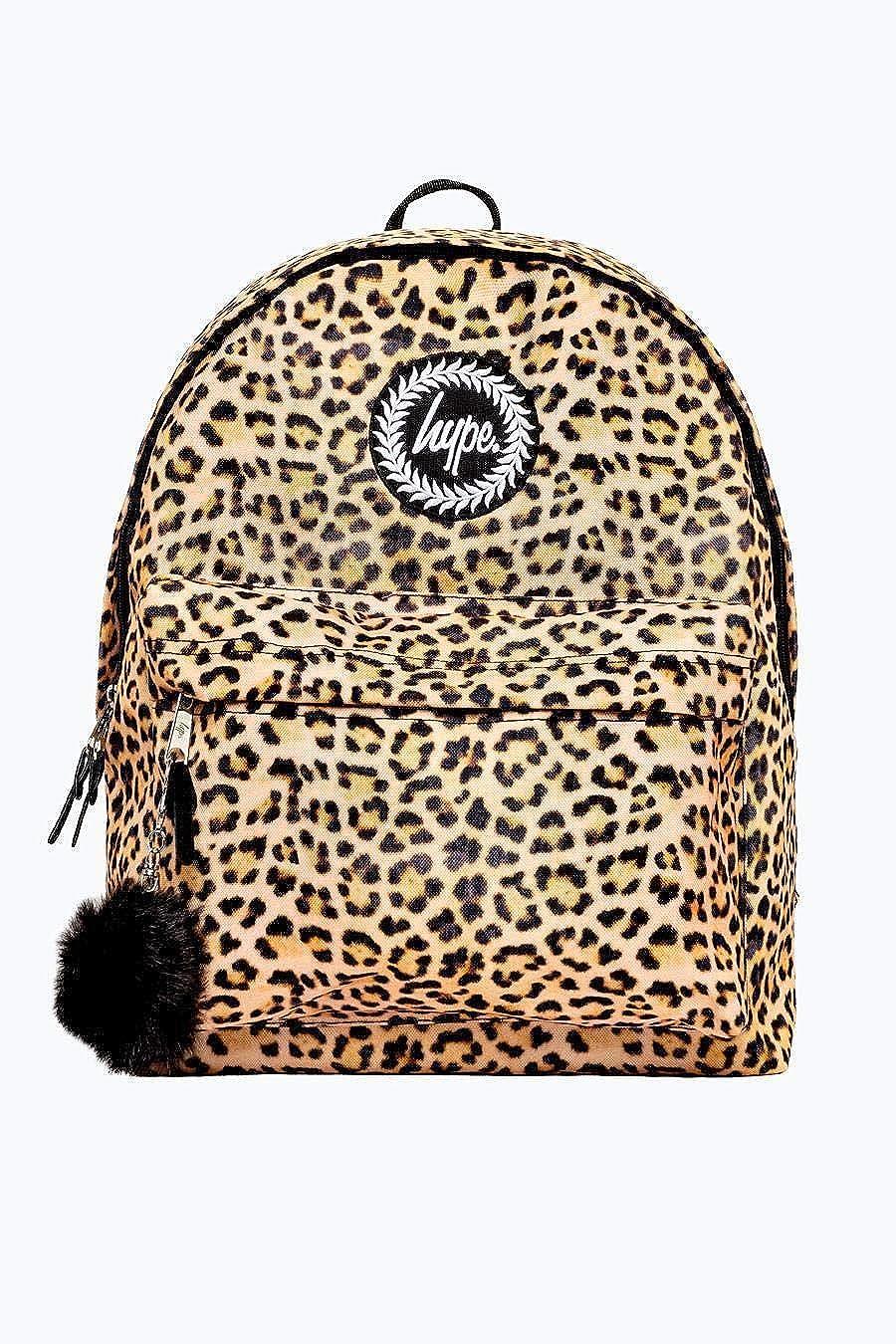Leopard Pom Pom Neuf Automne Hiver 2018 Sacs /à Dos Beaucoup Nouvelles Couleurs /& Designs AW-2018 Collection Hype Sac /à Dos Sacs Choisissez Votre Favori Cartable One Size