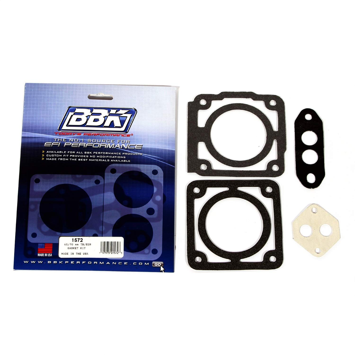 BBK 1572 65/70mm Throttle Body Gasket Kit for Ford 5.0L BBK Performance Parts