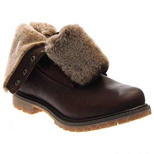 af3319f3aadf Timberland Women s Authentics Shearling Fold-Down Boot  Amazon.co.uk ...