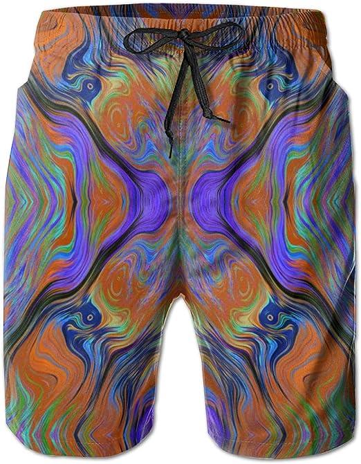 Men/'s Swim Trunks Blue Snowman Beach Board Shorts Swimming Short Pants Running Sports Surffing Shorts