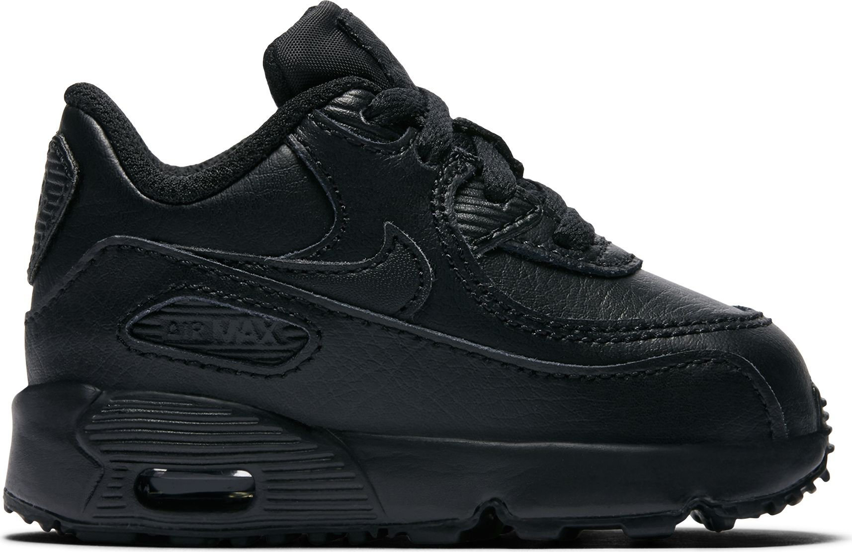 new product 20c0d b694e Galleon - NIKE Air Max 90 LTR (TD) Toddler Shoes BlackBlack 833416-001 (4  M US)