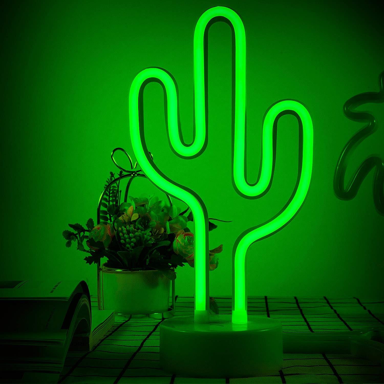 ZWOOS Warmwei/ße LED Deko Batterien Betrieben LED Nacht Licht Nacht Tisch Lampe Nicht im Lieferumfang Enthalten Dekolampe f/ür Wohnzimmer und K/üche