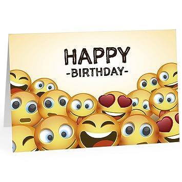 Happy Birthday Karte.Große Glückwunschkarte Zum Geburtstag Xxl A4 Happy Birthday