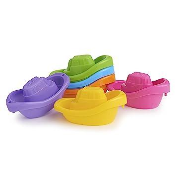 H's bath boats!