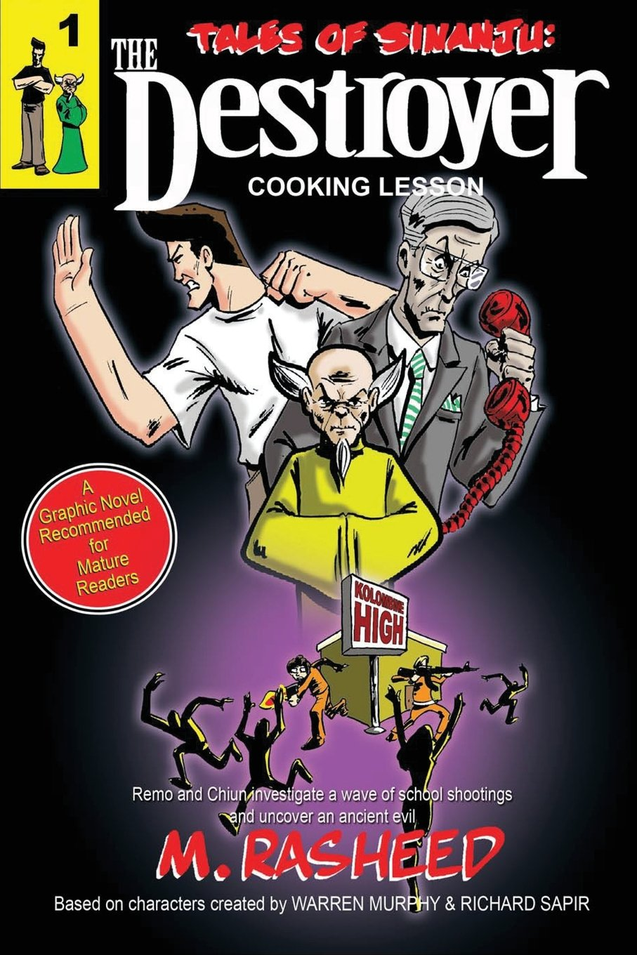 """Tales of Sinanju: The Destroyer, book one """"Cooking Lesson"""" pdf"""