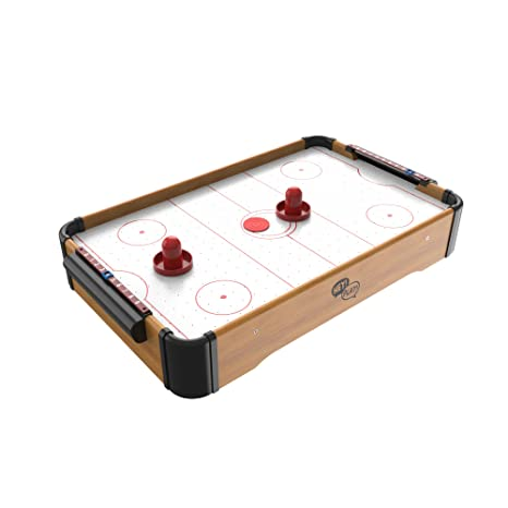 Awesome Mini Arcade Air Hockey Table  A Toy For Girls And Boys By Hey! Play