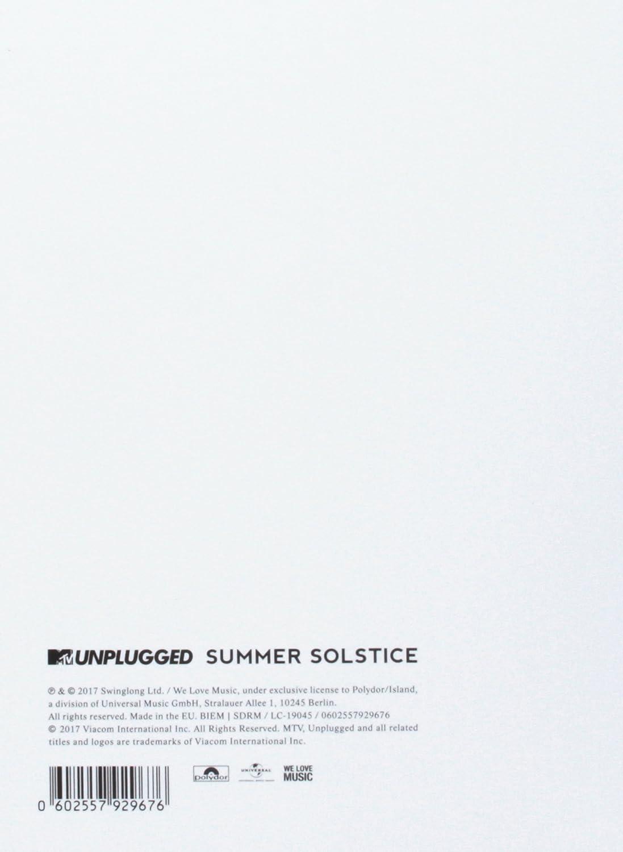 MTV Unplugged: Summer Solstice - Fan Edition: Amazon.co.uk: Music