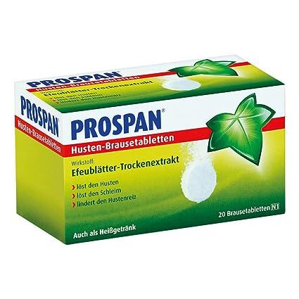 Prospan TOS comprimidos efervescentes 20 st