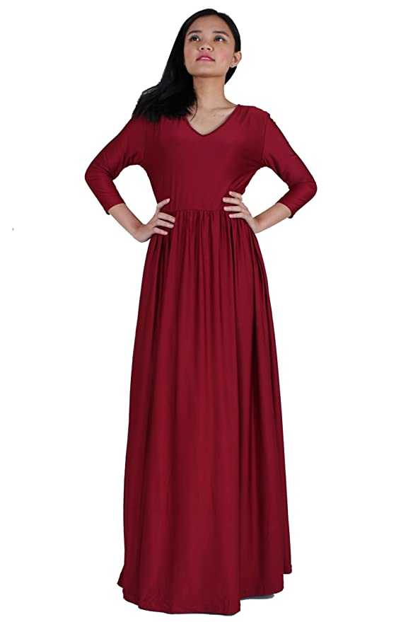 b0fb1c9fdf Women Maxi Dress Plus Size Formal Beach Wedding Guest Party Bridesmaid  Evening Ball Gown Gala at Amazon Women s Clothing store