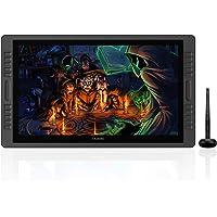 Huion KAMVAS PRO 22 Monitor de dibujo de pantalla HD Pen de 21.5 pulgadas con 875 Presión de pluma sin BATTERY y 10 teclas de acceso directo 1 Barra de toque en cada lado de la versión actualizada por monitor
