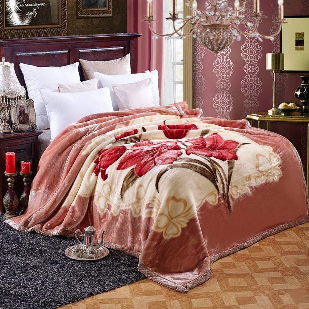 SXT シーツの冬のフランネルの綿毛布、暖かい単一の二重タオルのキルト毛布 寝具毛布 (Color : 180*220cm(71x87inch), サイズ : B) B07Q4D6WPH 180*220cm(71x87inch) B