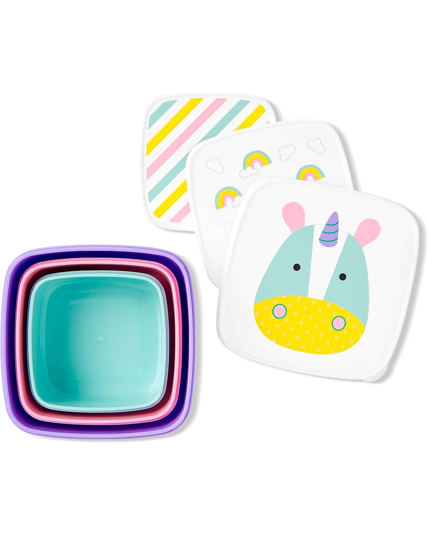 Skip Hop Toddler Food Storage Snack Box Set, Unicorn