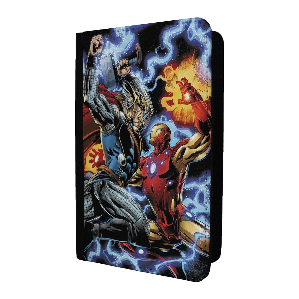 Marvel Superhero Comic Book passeport Coque – The Avengers Thor Iron Man – S-g946