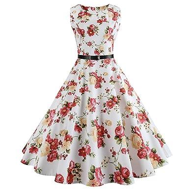 Floral Print Vintage Dress Women Retro Pinup Tutu Dresses Hepburn 50s 60s Rockabilly Robe Feminino Vestidos