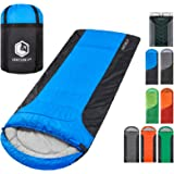 Backpacking Sleeping Bag – Lightweight Warm & Cold Weather Sleeping Bags for Adults, Kids & Couples – Ideal for Hiking, Campi