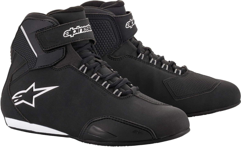 38 Alpinestars Bottes moto Sektor Shoe Black Noir