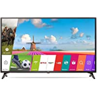LG 108 cm (43 Inches) Full HD LED Smart TV 43LJ554T (Ceramic Black) (2017 model)