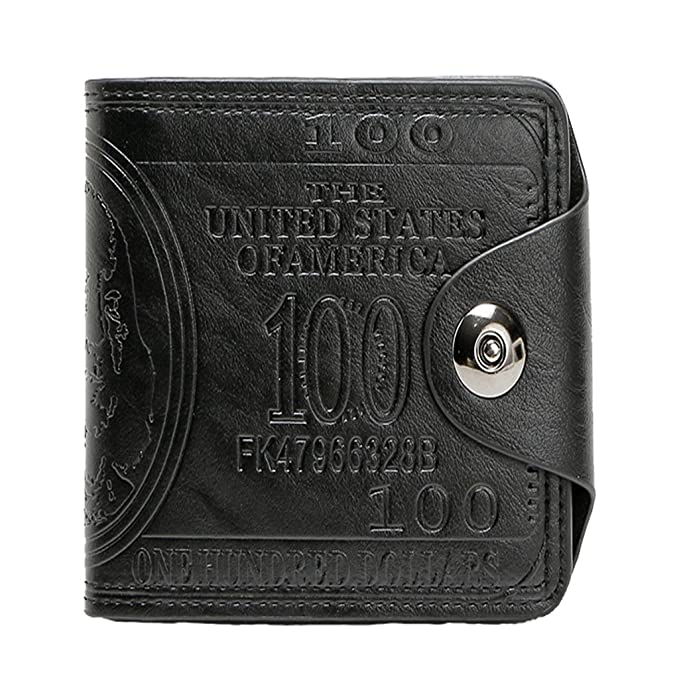 d2b716dbbc6c Amazon.com: Men Wallet Leather Card Coin Holder Hot Sale 2018 Short Clip  Photo Money Pocket Dollar Price Male Change Purse: Clothing