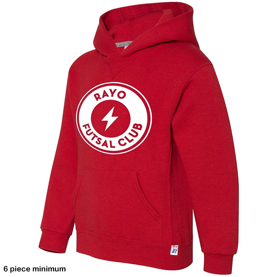 Stretch is Comfort Custom and Personalizable Boys Hooded Pullover Sweatshirt