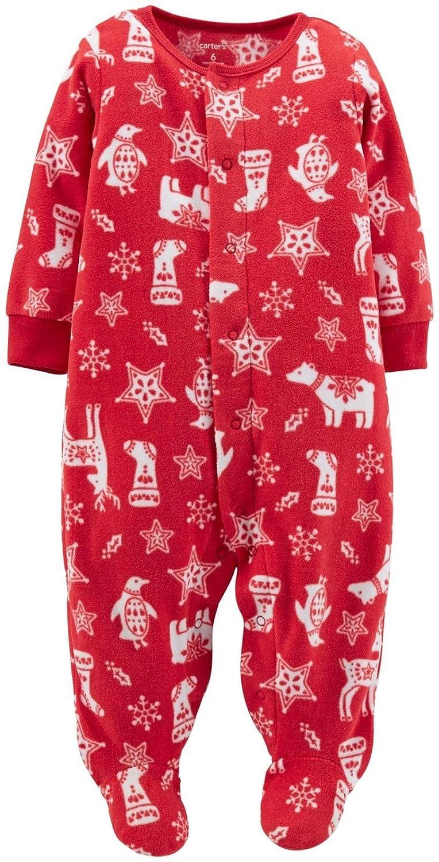 689fe610c7bd Amazon.com  Carter s Unisex Baby Christmas Sleep N Play Footie (Baby ...