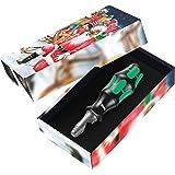 Wera 05135907001 Kraftform Kompakt Christmas, 7-teilig