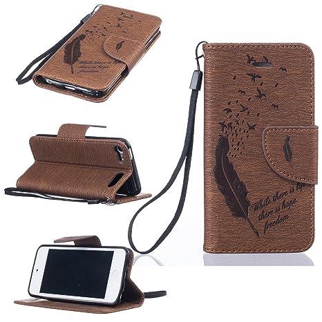 02f2899d29 Amazon | iPod Touch 第5世代 / 第6世代 ケース UNEXTATI PUレザー 手帳 ...