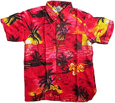 Double Duck Niño Chillón Camisa Hawaiana, for 10 Year Old, 38