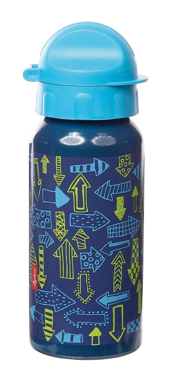 sigikid, Jungen, Trinkflasche mit Drehverschluss 0,4 l, Arrows, Blau, 24811
