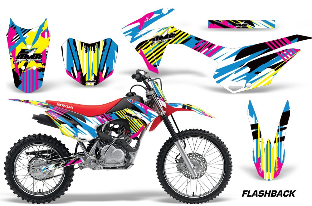 AMR Racing Graphics Kit for MX Honda CRF125F 2014-2018 FLASHBACK