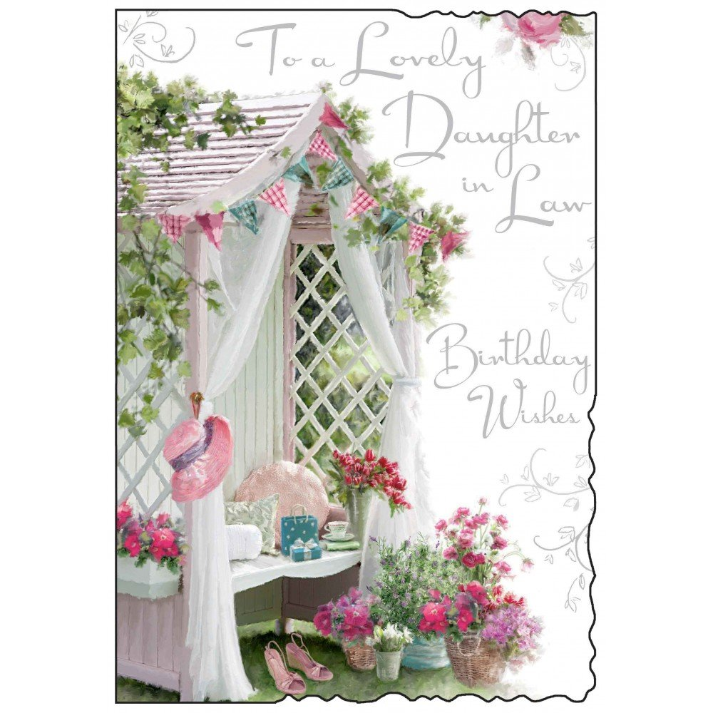 Daughter In Law Birthday Card JJ8450 Amazoncouk Office Products