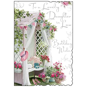 Daughter In Law Birthday Card JJ8450