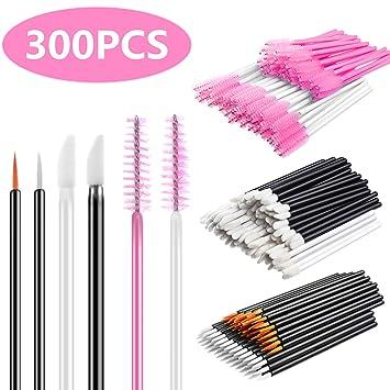 Amazon Com Infilila Disposable Makeup Applicators Kit 100pcs Lip