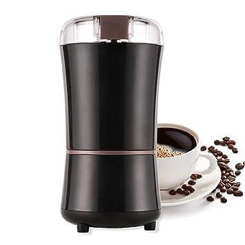 Molinillo Eléctrico de Café Semillas Especias Frutos Secos Molinos de Cuchillas Acero Inoxidable de 300W Potencia