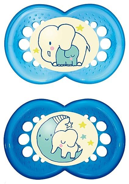 Mam Babyartikel 66110511 - Chupete para 6-16 meses, paquete de 2 undidades [modelos surtidos]