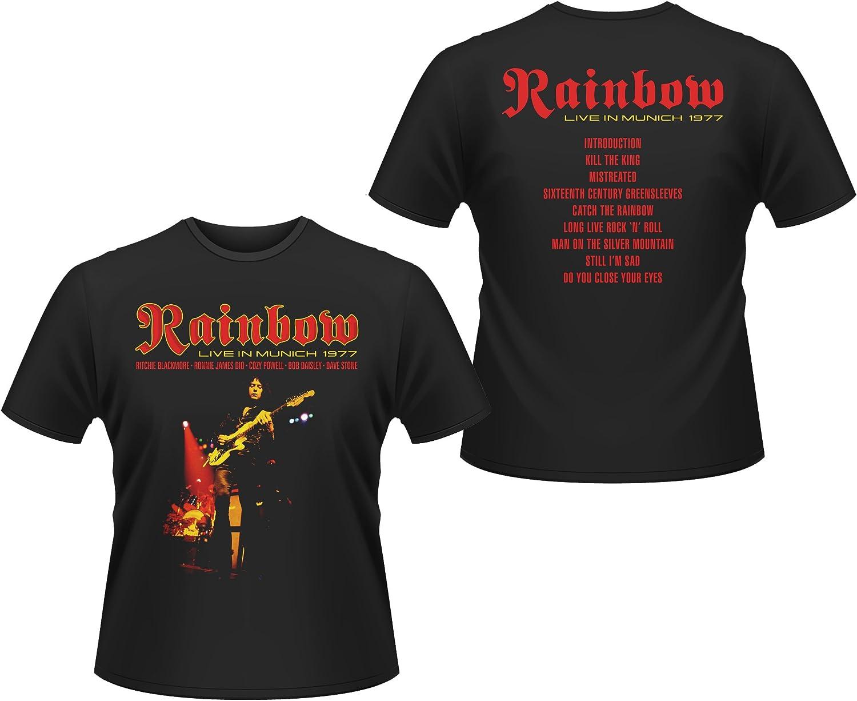 Rainbow Live In Munich Ritchie Blackmore oficial Camiseta ...