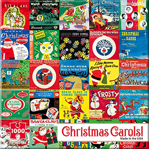 Re-marks Christmas Carols 1000 Piece Puzzle from Re-Marks