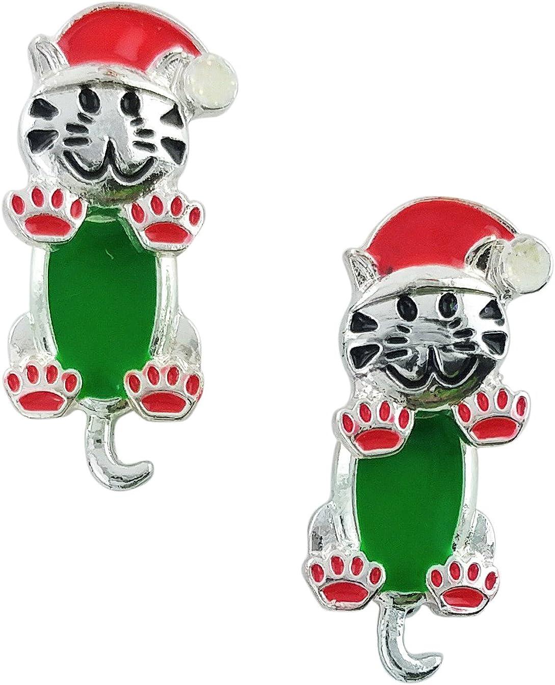 Rectangular Christmas Dear Santa I Want It All Royal Lion Cufflinks