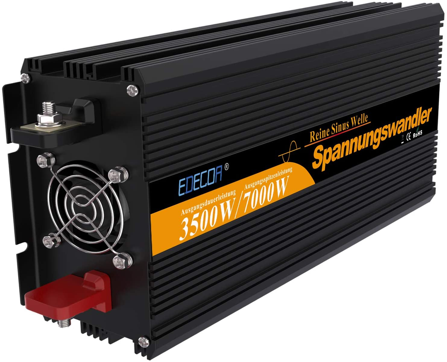 inversor de corriente 3500 7000w convertidor de voltaje 12v 220v de onda sinusoidal pura