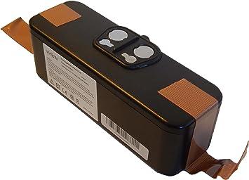 vhbw Batería Li-Ion 3000mAh (14.4V) compatible con iRobot Roomba 620, 625, 630, 650 aspiradoras, robot aspirador reemplaza 11702, GD-Roomba-500.: Amazon.es: Electrónica