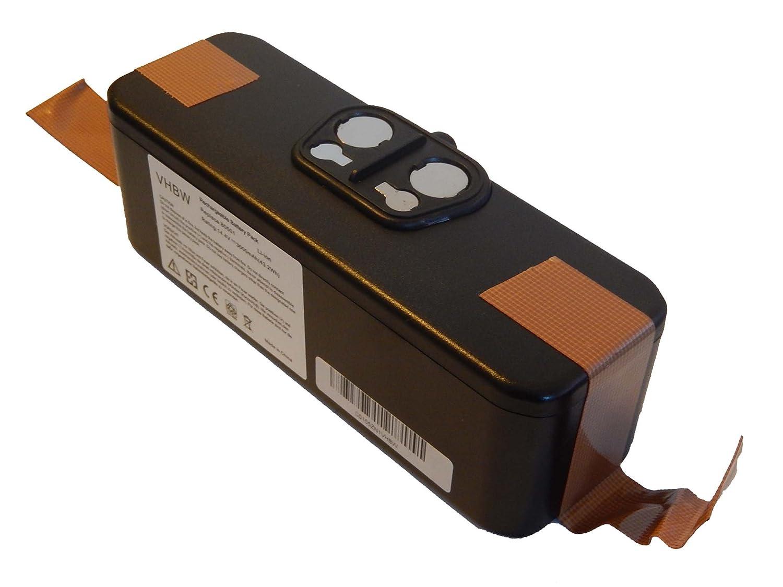 vhbw Batería Li-Ion 4500mAh (14.4V) para aspirador, robot aspirador ...