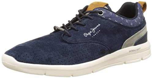 Mens Jayden Fabric Trainers Pepe Jeans London UYSaP